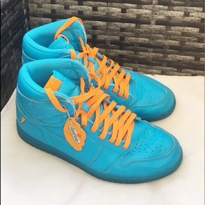 Air Jordan Gatorade Retro Lagoon Blue Sz 10